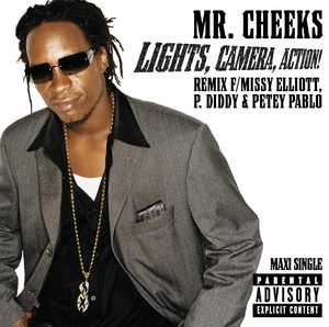 Mr. Cheeks Lights, Camera, Action! cover