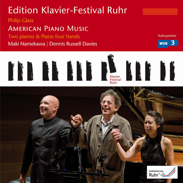 Glass: American Piano Music (Edition Ruhr Piano Festival, Vol. 21) Albumcover
