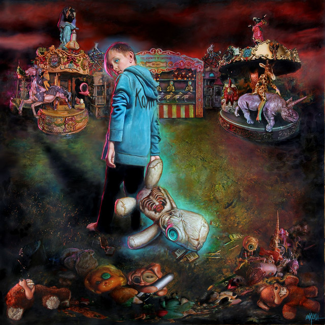 Album cover for The Serenity of Suffering by Korn