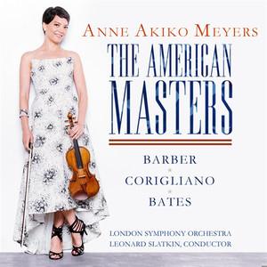 The American Masters - Barber & Bates: Violin Concertos - Corigliano: Lullaby for Natalie album
