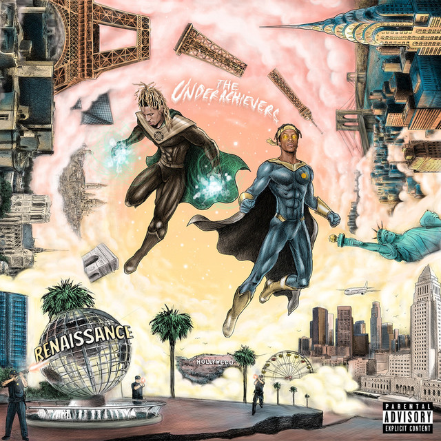 Album cover for Renaissance by The Underachievers