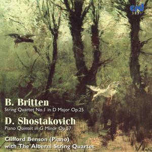 Clifford Benson, Alberni String Quartet