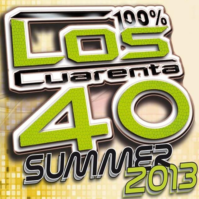 Various Artists Los Cuarenta Summer 2013 album cover