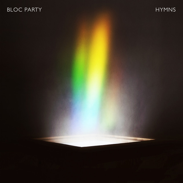 Album cover for HYMNS by Bloc Party