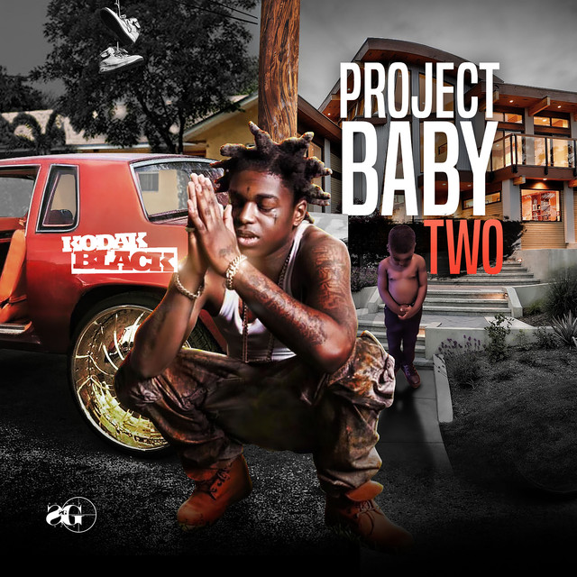 Album cover for Project Baby 2 by Kodak Black