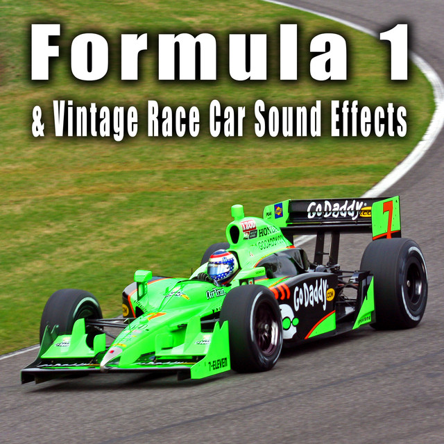 Formula 1 & Vintage Race Car Sound Effects by The Hollywood Edge