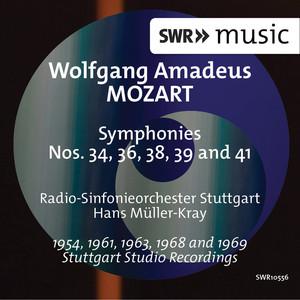 Mozart: Symphonies Nos. 34, 36, 38, 39 & 41 Albümü