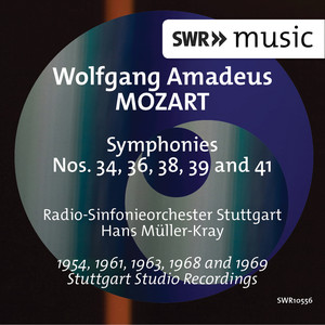 Mozart: Symphonies Nos. 34, 36, 38, 39 & 41
