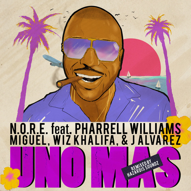 Uno Más Remix Feat. Pharrell Williams, Miguel, Wiz Khalifa, J Alvarez