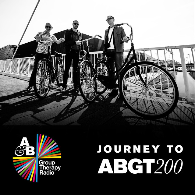 Album cover for Journey To ABGT200 by Above & Beyond Group Therapy