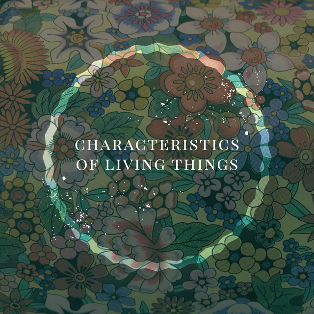 Album cover for Characteristics of Living Things by Quiet Hounds