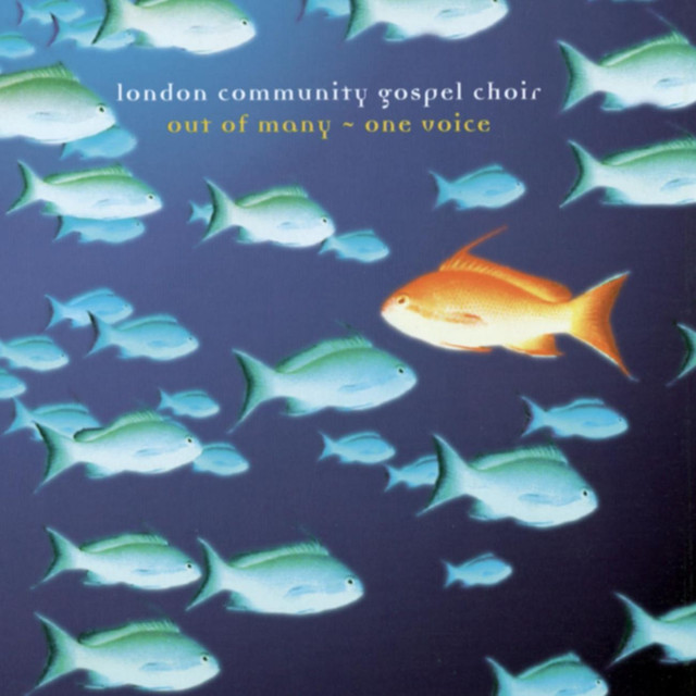 London Community Gospel Choir Out of Many - One Voice album cover
