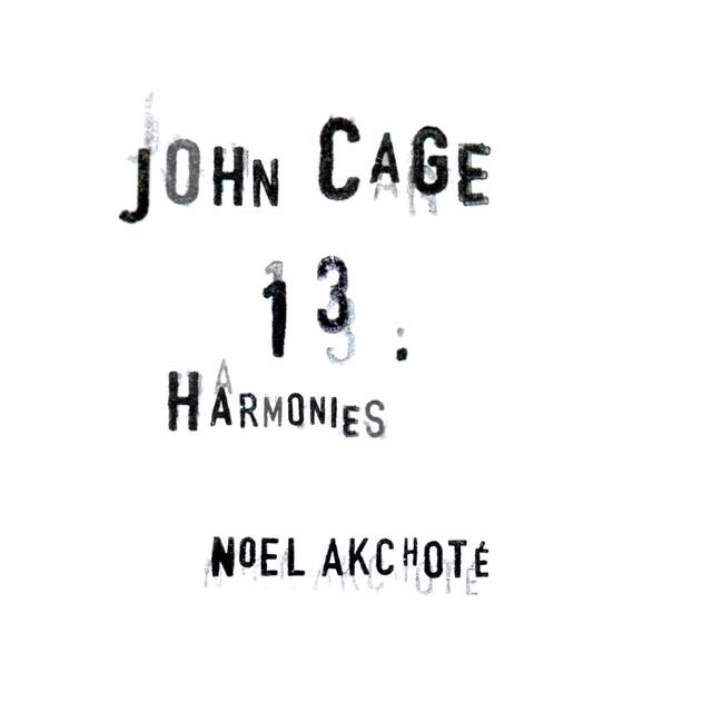 John Cage: 13 Harmonies (Arr. for Guitar)