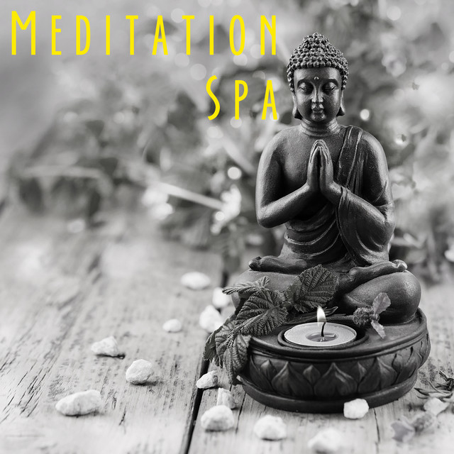 Album cover for Meditation Spa by Yoga, Yoga Music, Yoga Tribe
