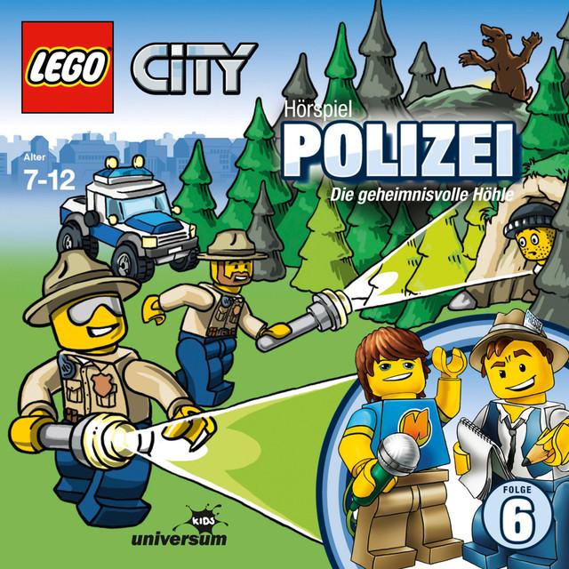 Folge 6: Lego City - Polizei - Die geheimnisvolle Höhle Cover
