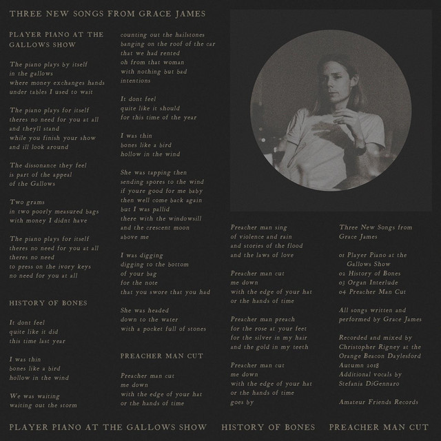 Three New Songs from Grace James by Grace James on Spotify