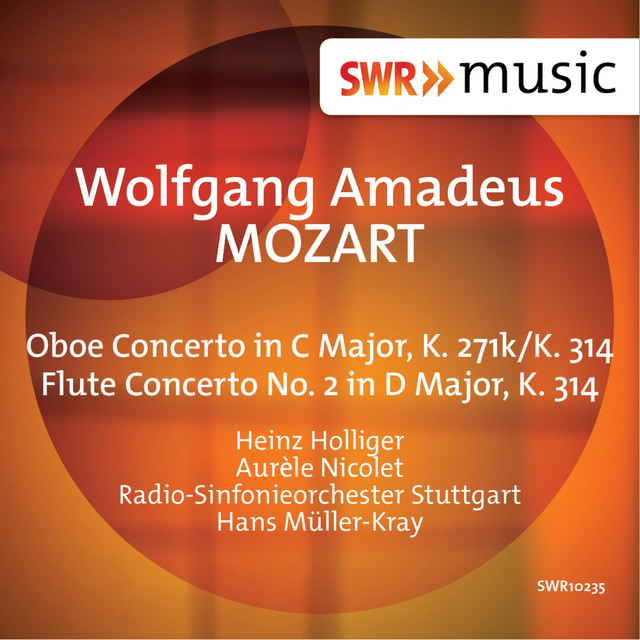Mozart: Oboe Concerto in C Major & Flute Concerto No. 2 in D Major Albumcover