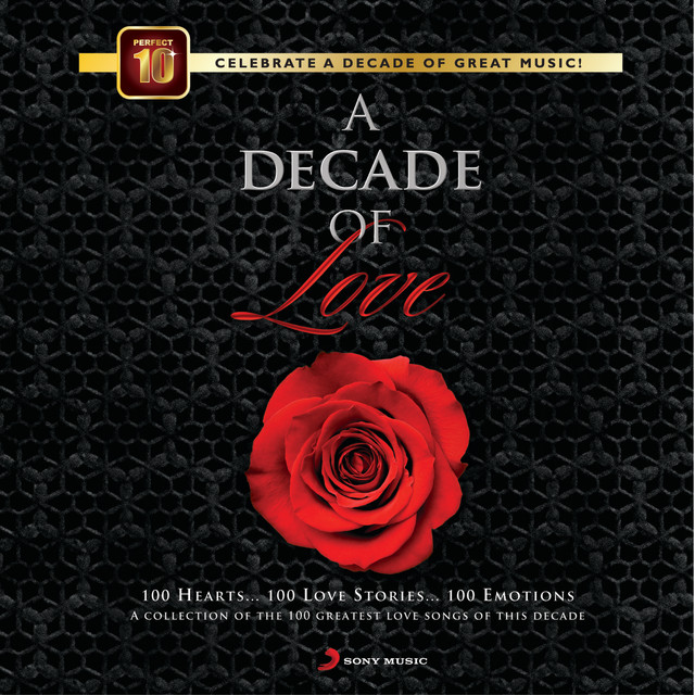 Various Artists A Decade of Love album cover