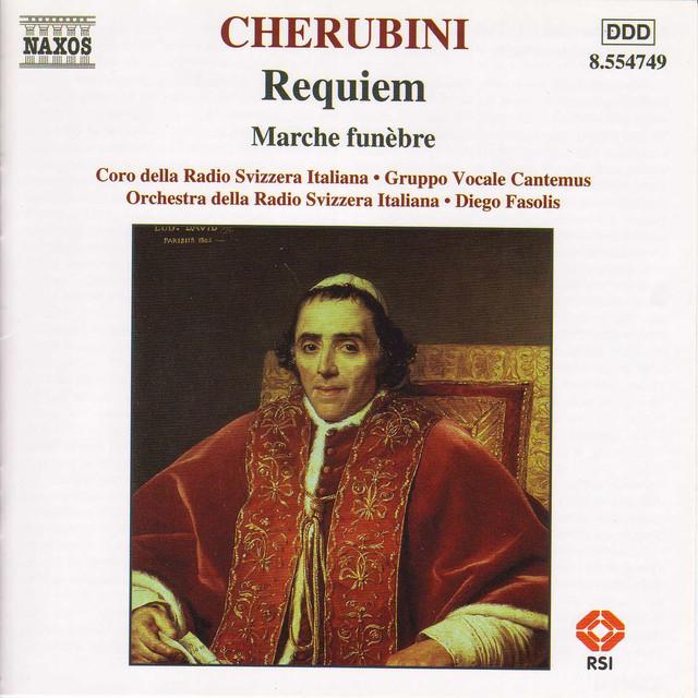 Cherubini: Requiem / Marche Funebre Albumcover