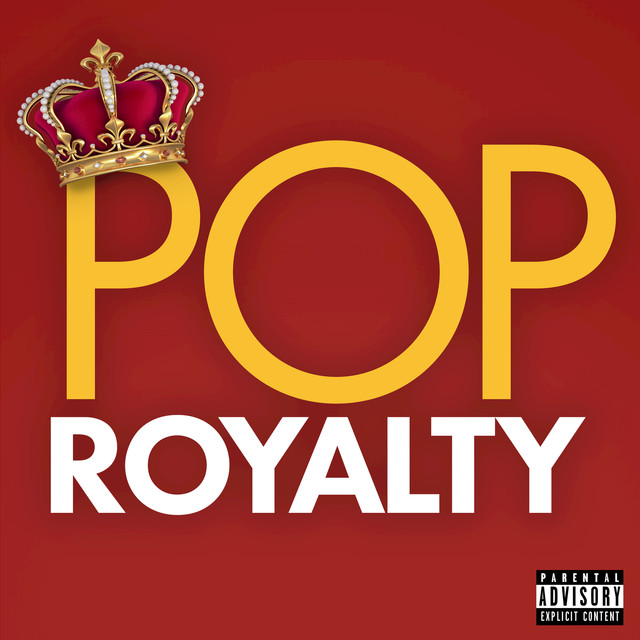 Album cover for Pop Royalty by Various Artists