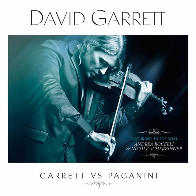David Garrett Garrett vs. Paganini album cover