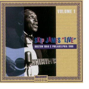 Skip James Live 1964 & 1966 album