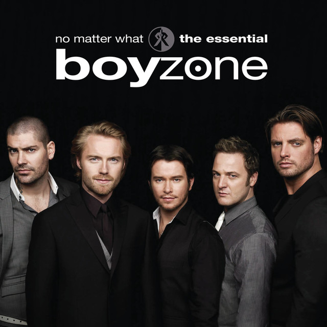 No matter what the essential boyzone album by boyzone for Love is a four letter word album cover