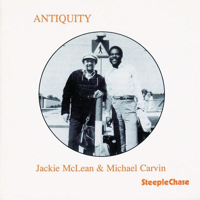 Jackie McLean, Michael Carvin Antiquity album cover