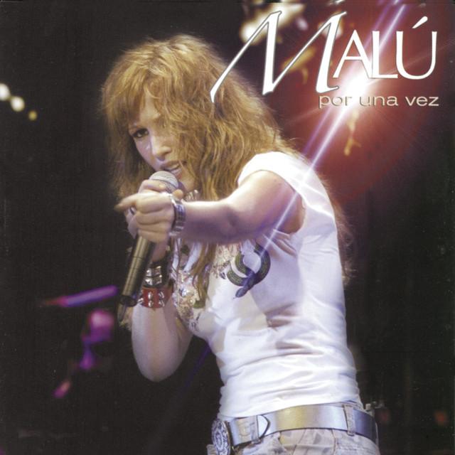 Malú Por una vez (En directo) album cover
