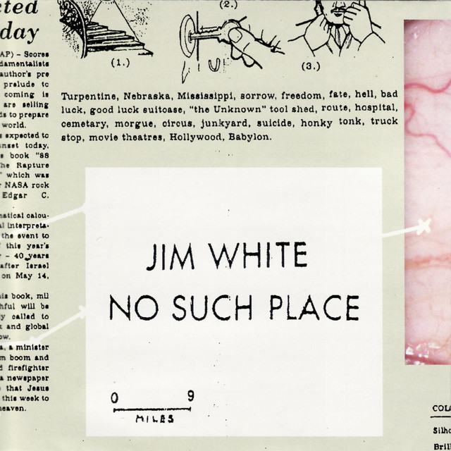 Jim White No Such Place album cover
