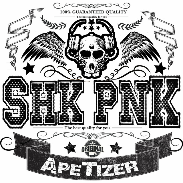 Album cover for ApeTizer - EP by Shaka Ponk