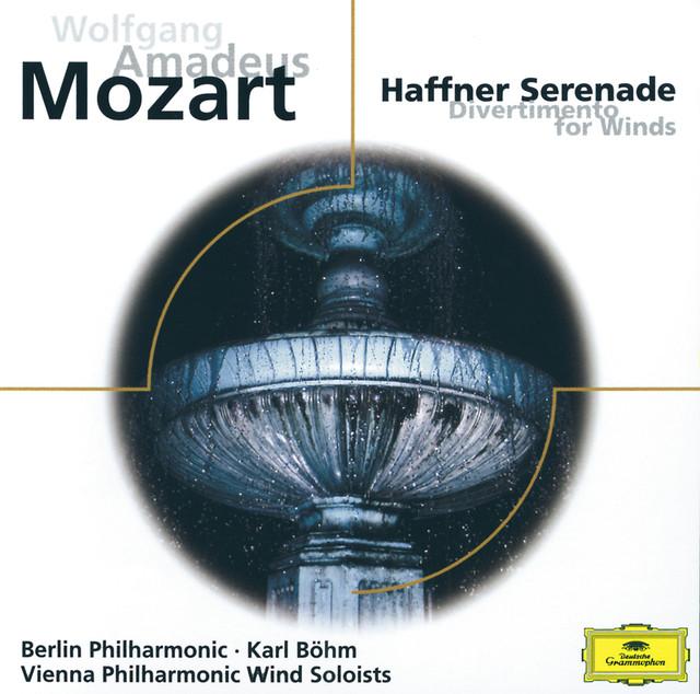 Mozart: Haffner Serenade; Divertimento KV 186 Albumcover