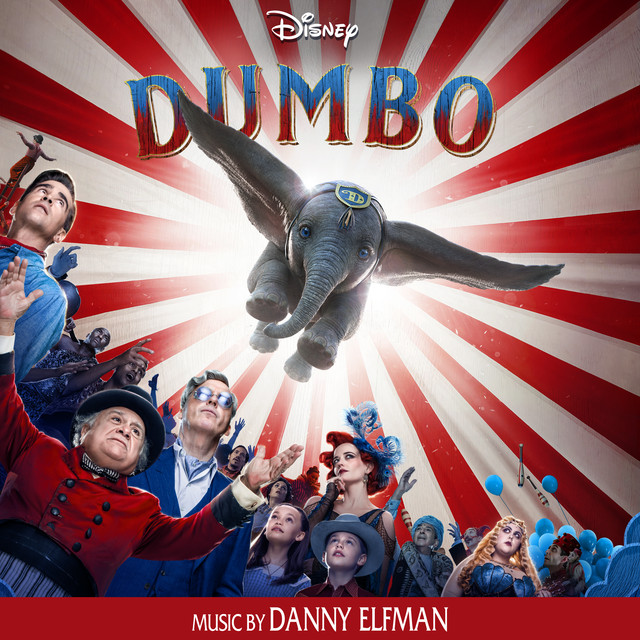Album cover for Dumbo (Original Motion Picture Soundtrack) by Danny Elfman