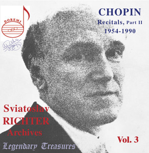 Sviatoslav Richter Archives, Vol. 3: Chopin (Live) Albümü