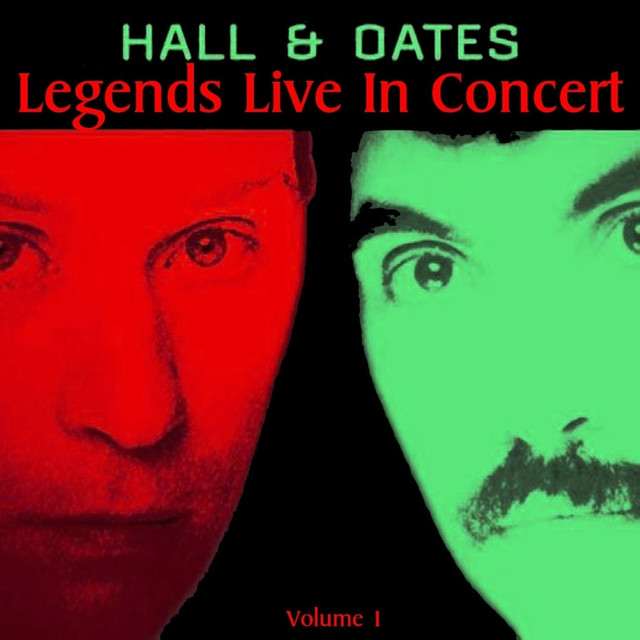 Hall & Oates Live in Concert album cover