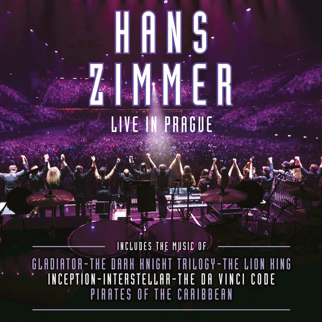 Album cover for Live In Prague by Hans Zimmer