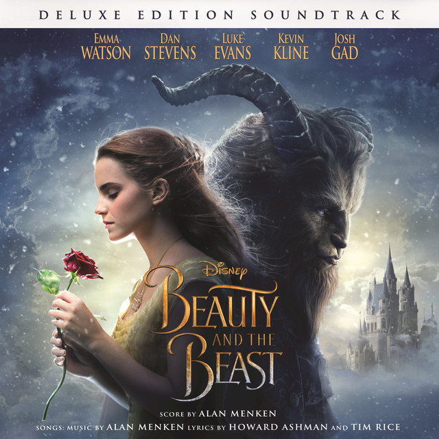 Album cover for Beauty and the Beast (Original Motion Picture Soundtrack/Deluxe Edition) by Various Artists