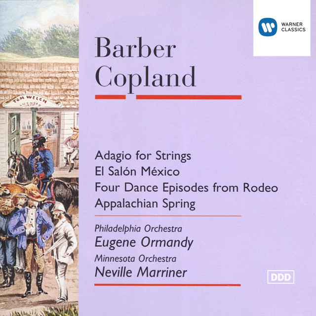 Barber adagio copland el salon mexico four episodes for Aaron copland el salon mexico