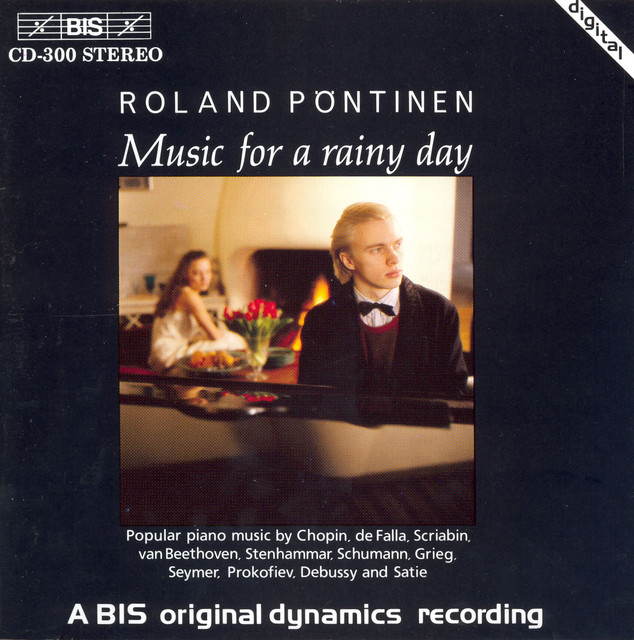 Pontinen, Roland: Music for A Rainy Day Albumcover
