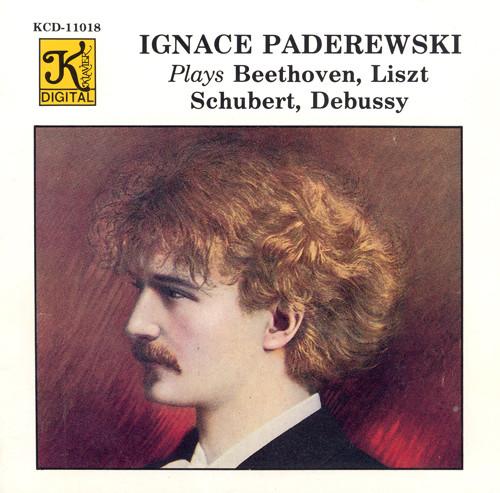 Paderewski, Ignace: Paderewski Plays Beethoven, Liszt, Schubert and Debussy (Piano Rolls) Albumcover