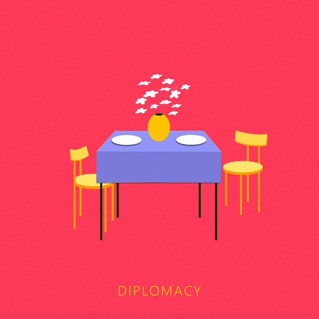 Album cover for Diplomacy by Kakkmaddafakka