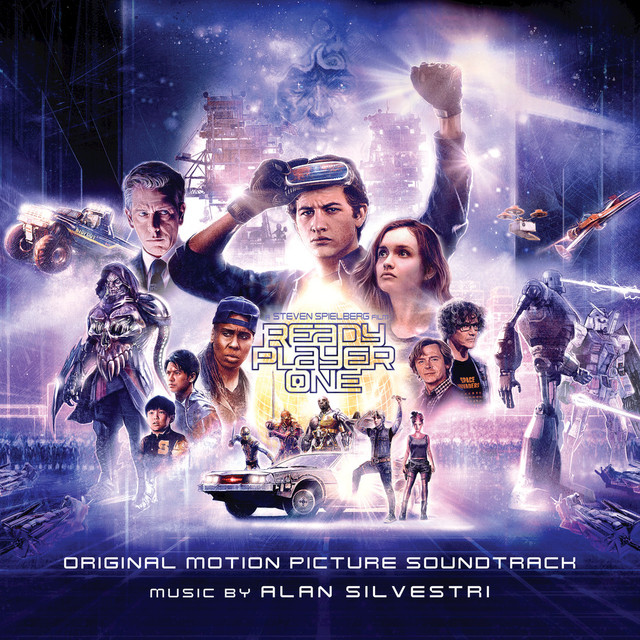 Album cover for Ready Player One: Original Motion Picture Soundtrack by Alan Silvestri