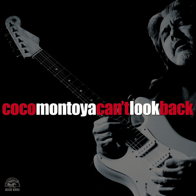 Coco Montoya Can't Look Back album cover