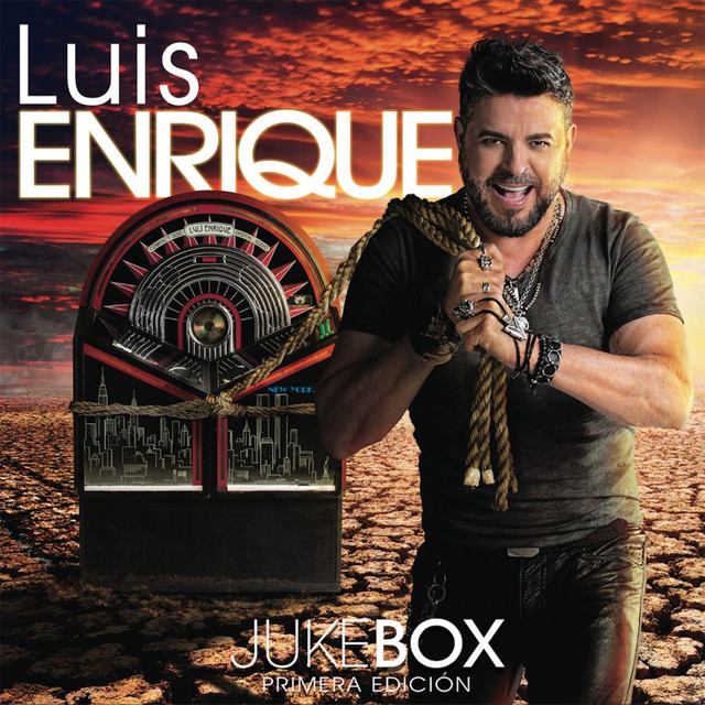 Album cover for Jukebox by Luis Enrique