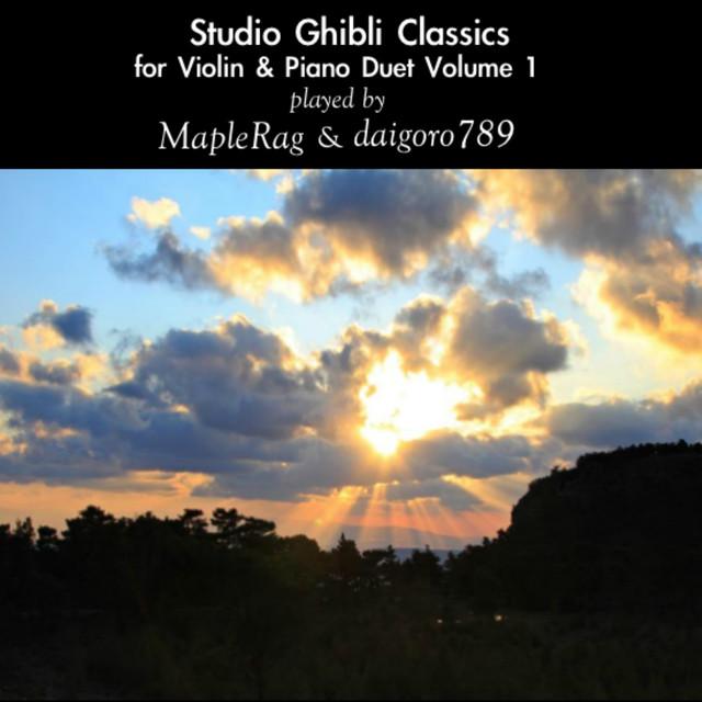 Studio Ghibli Classics for Violin and Piano Duet Volume 1