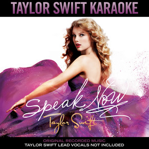 Taylor Swift Karaoke: Speak Now album
