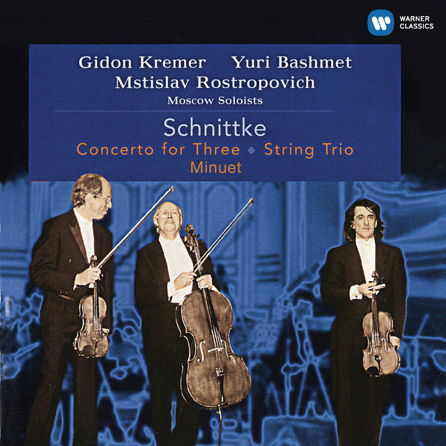 Schnittke: Concerto for Three, String Trio & Minuet (Live)