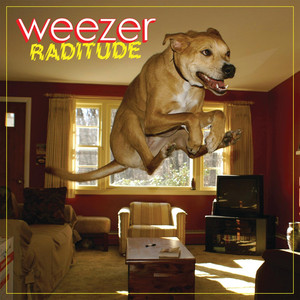 Album cover for Raditude by Weezer