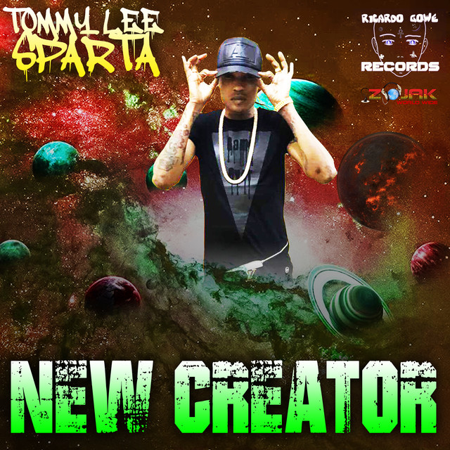 Album cover for New Creator by Tommy Lee Sparta