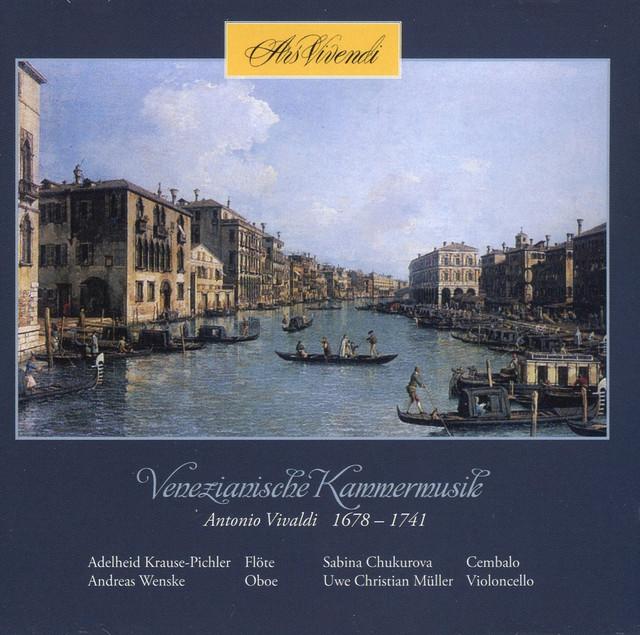 Venezianische Kammermusik Albumcover